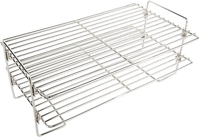 GFTIME Universal Chrome Warming Rack for Most Gas Grills Smokers and Charcoal Grills