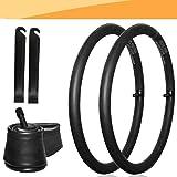 "Jolik [2 Pack] 16"" x 1.5 to 1.75 Tube 16 Inner Tube, 2 Plastic Tire crowbars for BoB Revolution SE/Pro/Flex/SU/Ironman - The"