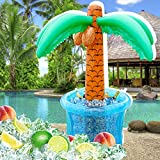 "60""Inflatable Palm Tree Cooler, Summer Swimming"