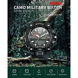 V2A Analogue-Digital Black Dial Men's Watch