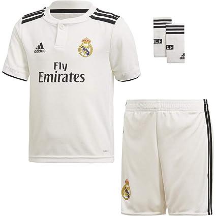 d03eb258179b9 adidas 18 19 Real Madrid Home Minikit Conjunto