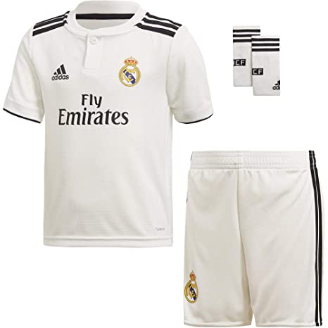 b500f1e5782 Amazon.com : adidas 2018-2019 Real Madrid Home Mini Kit : Sports & Outdoors