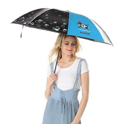 78545a4fdcee Amazon.com: AODEW Windproof Travel Umbrella Sunny Rain Anti-uv ...