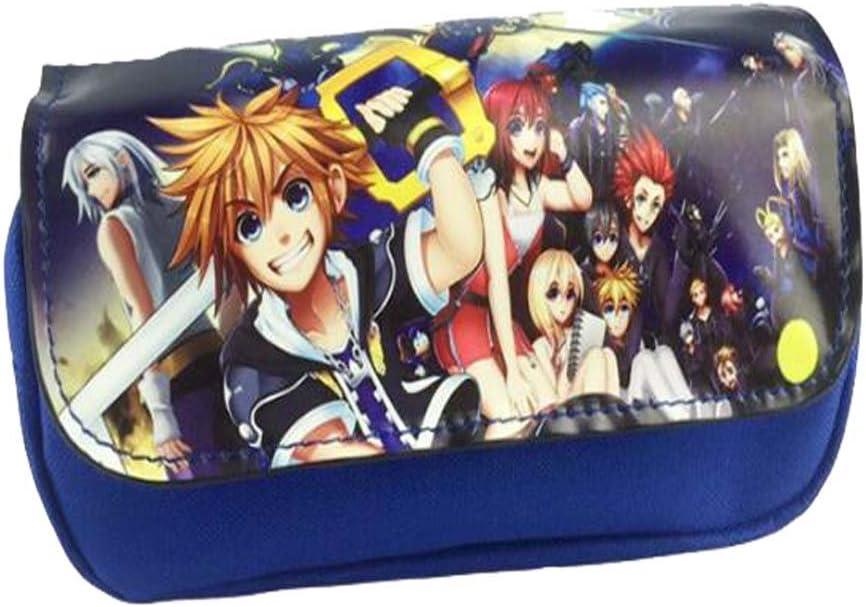 Etruke Anime Hot Game Kingdom Hearts - Estuche para lápices, diseño de corazones, color 3: Amazon.es: Oficina y papelería