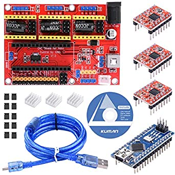 Kuman para impresora 3D Arduino CNC Shield Expansion Board ...