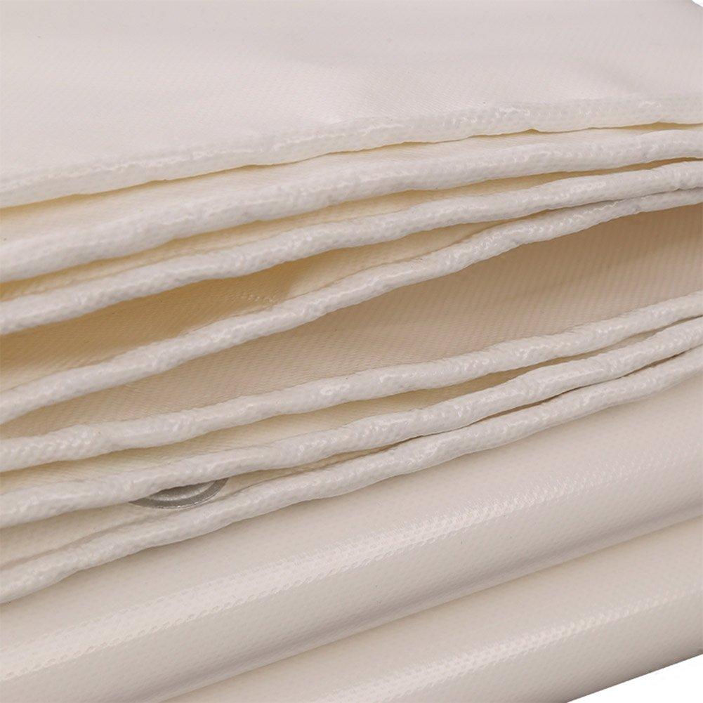 LXYFMS Außenverdickung Weiße Plane Plane Wasserdicht Sonnencreme Sonnencreme Sonnencreme Messer Schaben Tuch Plane Plane Markise Tuch Oxford Tuch Outdoor-Plane (größe   5 x 6m) B07M8B7D6P Zelte Globale Verkäufe a1b652