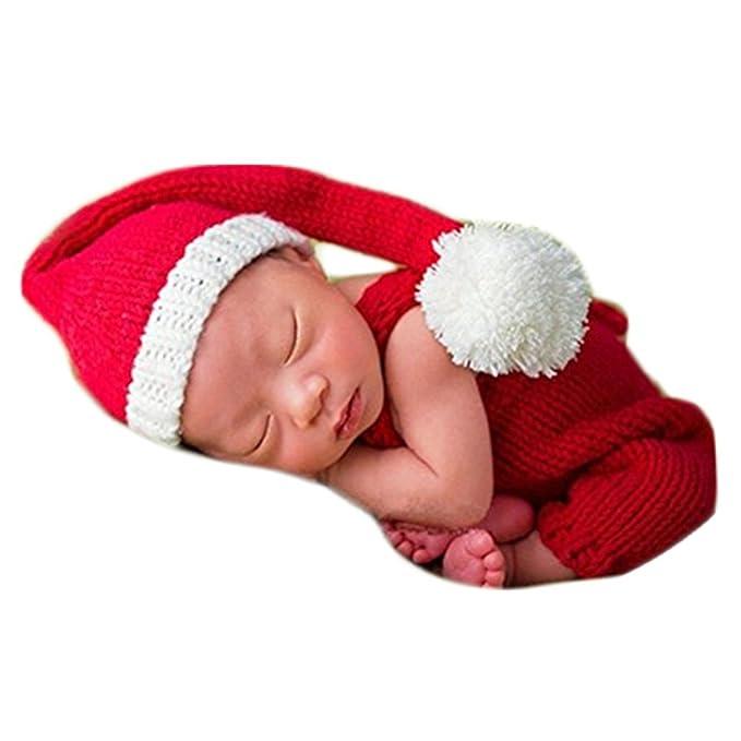 70e01791a701b Amazon.com: Christmas Newborn Baby Photo Prop Boy Girl Photo Shoot ...