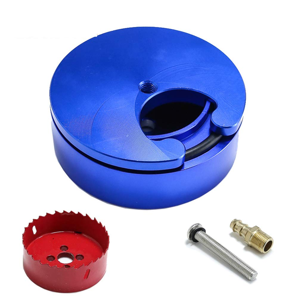 Aluminum Alloy Diesel Fuel Tank Sump Kit Replacement for FASS Duramax Powerstroke Engines