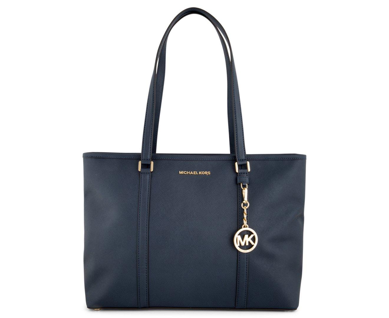 Michael Kors Sady Ladies Large Leather Tote Handbag 35T7GD4T7L406