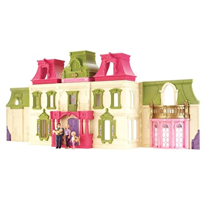 Amazon Com Fisher Price Loving Family Dream Dollhouse With