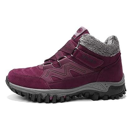 Zapatillas de deporte para damas, 2018 Winter Plus Cotton Calzado para caminatas Calzado para caminatas