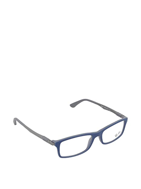Amazon.com: anteojos Ray-Ban 7017 5260 azul 7017 Rectángulo ...