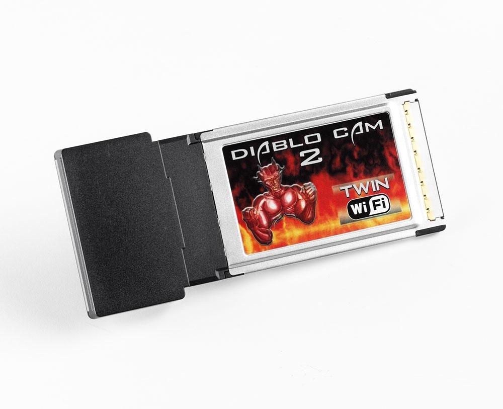 Duolabs - Lettore di schede WiFi 'Diablo Cam Rev 2,6', 1 Pezzo 6 107016