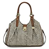 Brahmin Women's Java Elisa Satchel Onyx none none