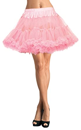 53a483cd67 Image Unavailable. Image not available for. Color: Leg Avenue Layered Tulle  Petticoat Adult Costume Accessory Pink - Plus Size