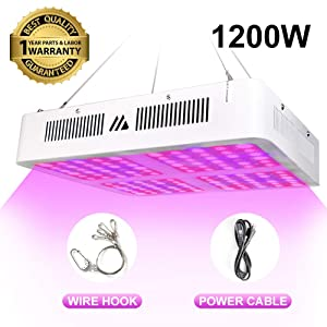 1200W LED Grow Light for Indoor Plants