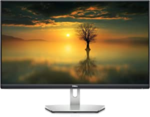 2021 Newest Dell 27 inch QHD (2650 x 1440) 75Hz Business and Study IPS Monitor, White LED Edgelight System, HDMI, DisplaPort, Anti-Glare with 3H Hardness