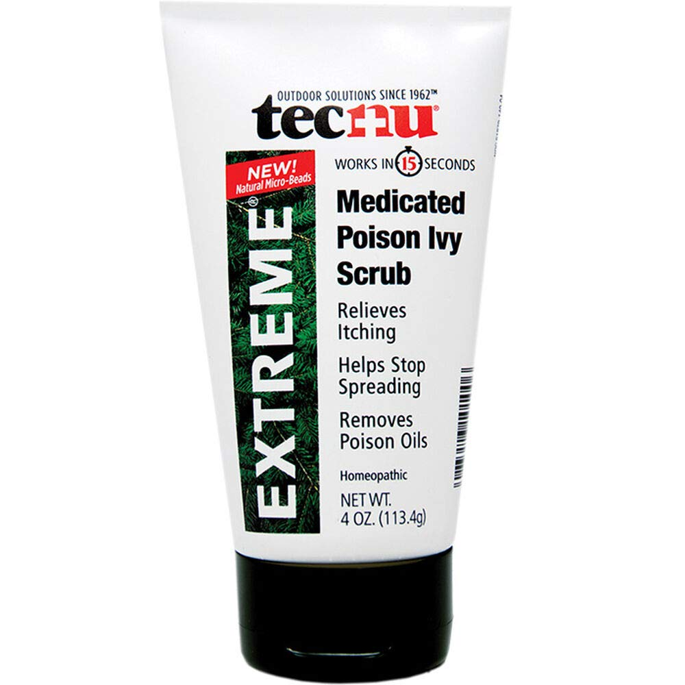 Tecnu Extreme Medicated Poison Ivy Scrub One Color One Size by Liberty Mountain