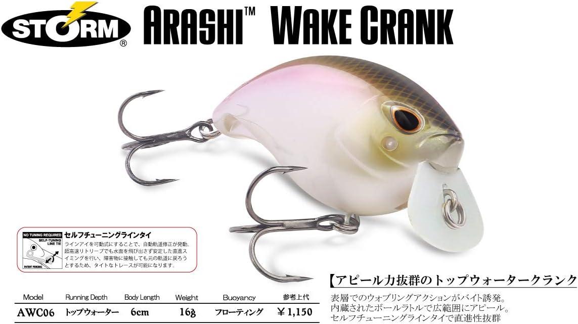 Wakasagi Storm Arashi Wake-Crank 06 Fishing Lure