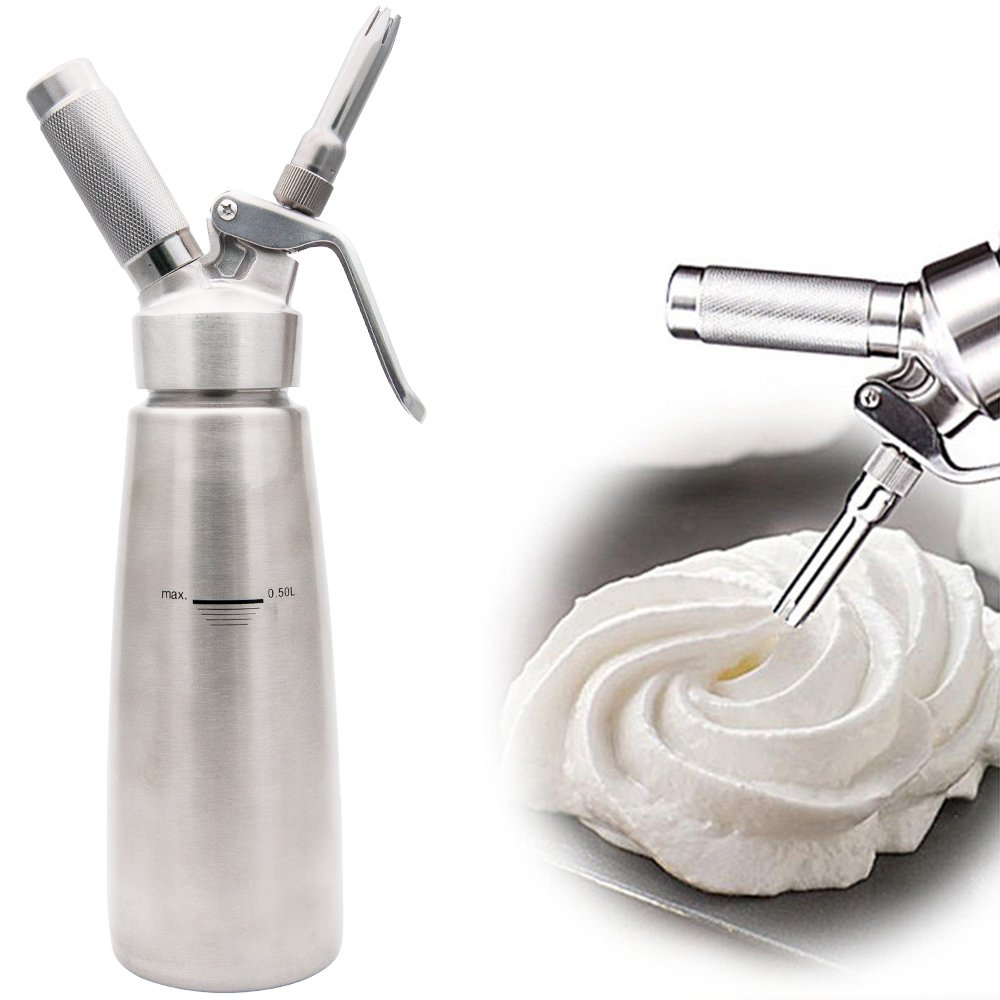 Top-Max Dispensador de crema y espumador eléctrico de leche: Amazon.es: Hogar