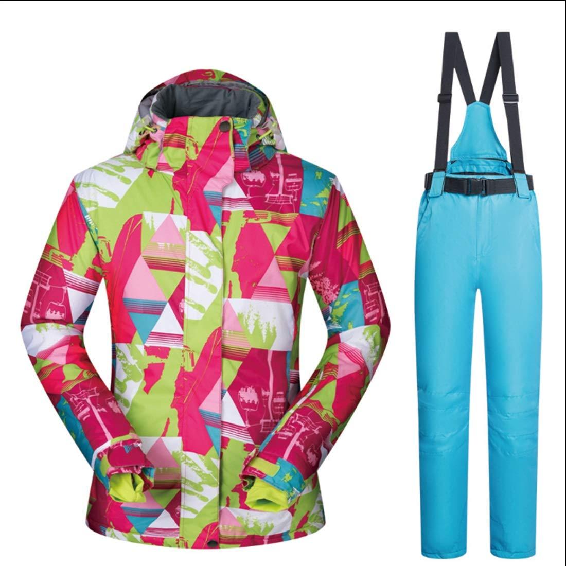YUMUY Giacca da Sci Sci da da Snowboard Traspirante Impermeabile da Donna Under Zero Coat (Coloree   01, Dimensione   XL)B07K65NZ8GS 06 3e7e3e