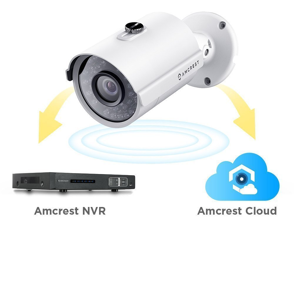 Amcrest ProHD Outdoor 4 Megapixel POE Bullet IP Security Camera - IP67 Weatherproof, 4MP (2688 TVL), IP4M-1025E (White) by Amcrest (Image #4)