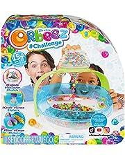 Orbeez Challenge, den enda, 2000 icke-giftiga vattenpärlor, innehåller 6 verktyg och förvaring, sensorisk leksak för barn från 5 år