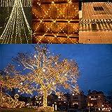 2-Pack Each 72ft 200LED Solar String Lights