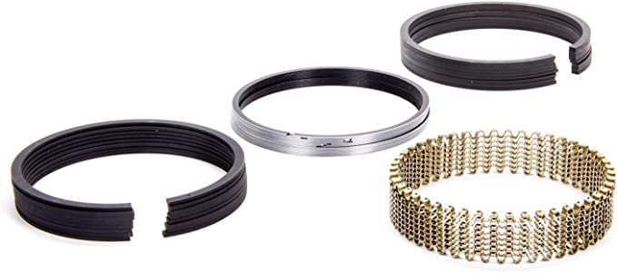 Hastings 2C144040 6-Cylinder Piston Ring Set