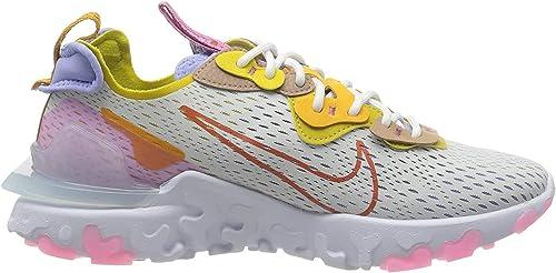 NIKE W NSW React Vision, Zapatillas para Correr para Mujer: Amazon ...
