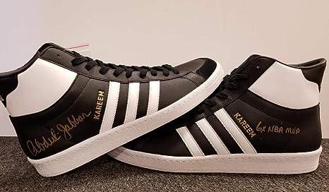 KAREEM ABDUL-JABBAR Signed ADIDAS quot 6x NBA MVP quot  Shoes BAS Beckett  ITP COA 20a0b7cc2