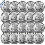 1878 1904 Morgan Silver Dollar BU Twenty Coins Brilliant Uncirculated