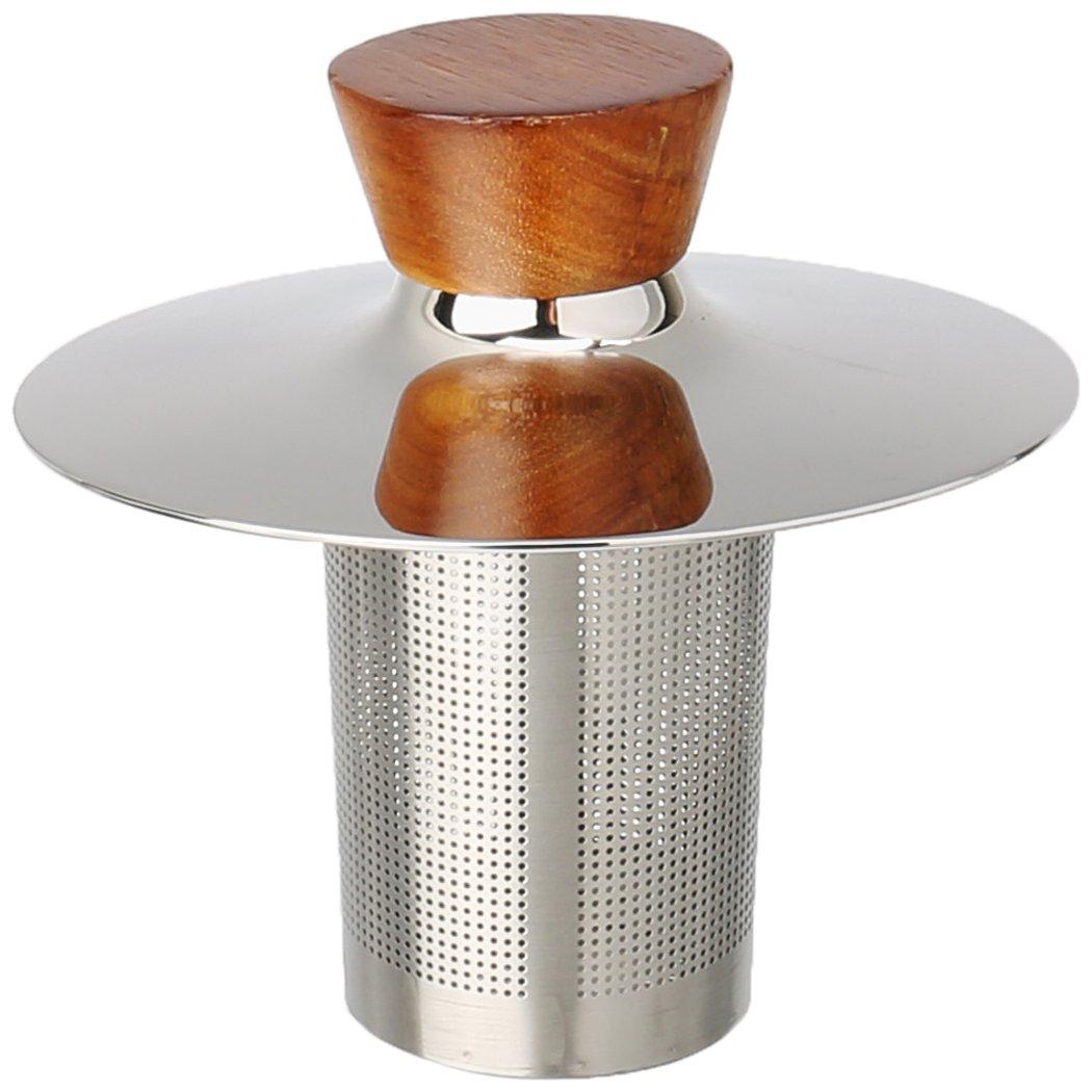 Nambe Bulbo Tea Topper, Silver by Nambè