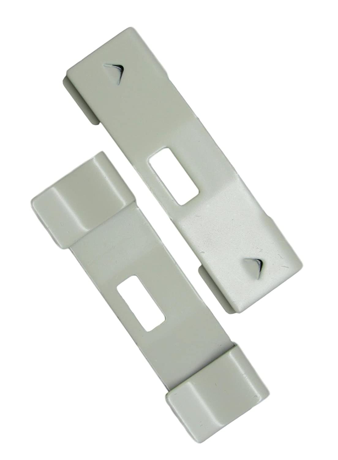 20 Pack Vertical Blind Vane Saver ~ Ivory Curved Repair Clips ~ Fixes Broken gmagroup 20 Curved Ivory Vane Savers