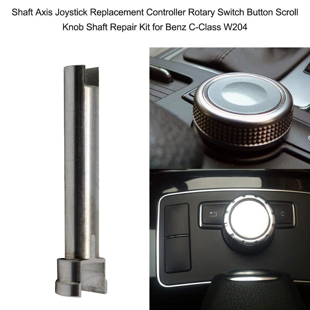 Kshzmoto ASSE delalbero Joystick Controller di Ricambio Interruttore rotativo Pulsante Knob Shaft Kit di Riparazione per Benz C-Class W204