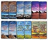 Creanoso Team Spirit Bookmarks Cards (60-Pack)- Teamwork Team Building Business Sports Marketing Gifts Ideas Stocking Stuffers - Bookmarker for Men Women Teens