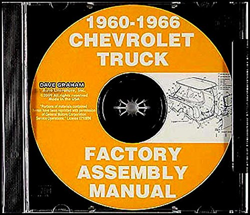 Download FULLY ILLUSTRATED CHEVROLET And GMC TRUCK & PICKUP Models C10, C20, C30 K10. K20, K30, Panel, Pickup, Suburban FACTORY ASSEMBLY INSTRUCTION MANUAL CD-ROM Covers Years 1960 1961 1962 1963 1964 1965 1966 - CHEVY PDF
