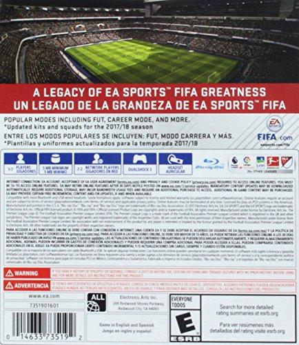FIFA 18 Legacy Edition – PlayStation 3