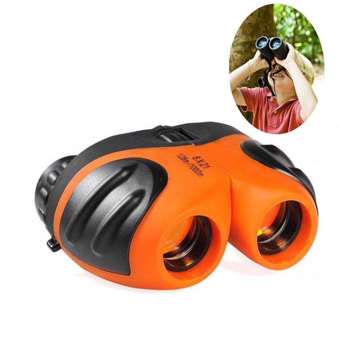 JRD & BS WINLコンパクトWatreproof & Shock Proof双眼for Kids – Best Gifts B07F38R2VP Orange 01 Orange 01