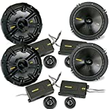 Kicker 40CSS654 6.5' 300W Component Speakers Systems