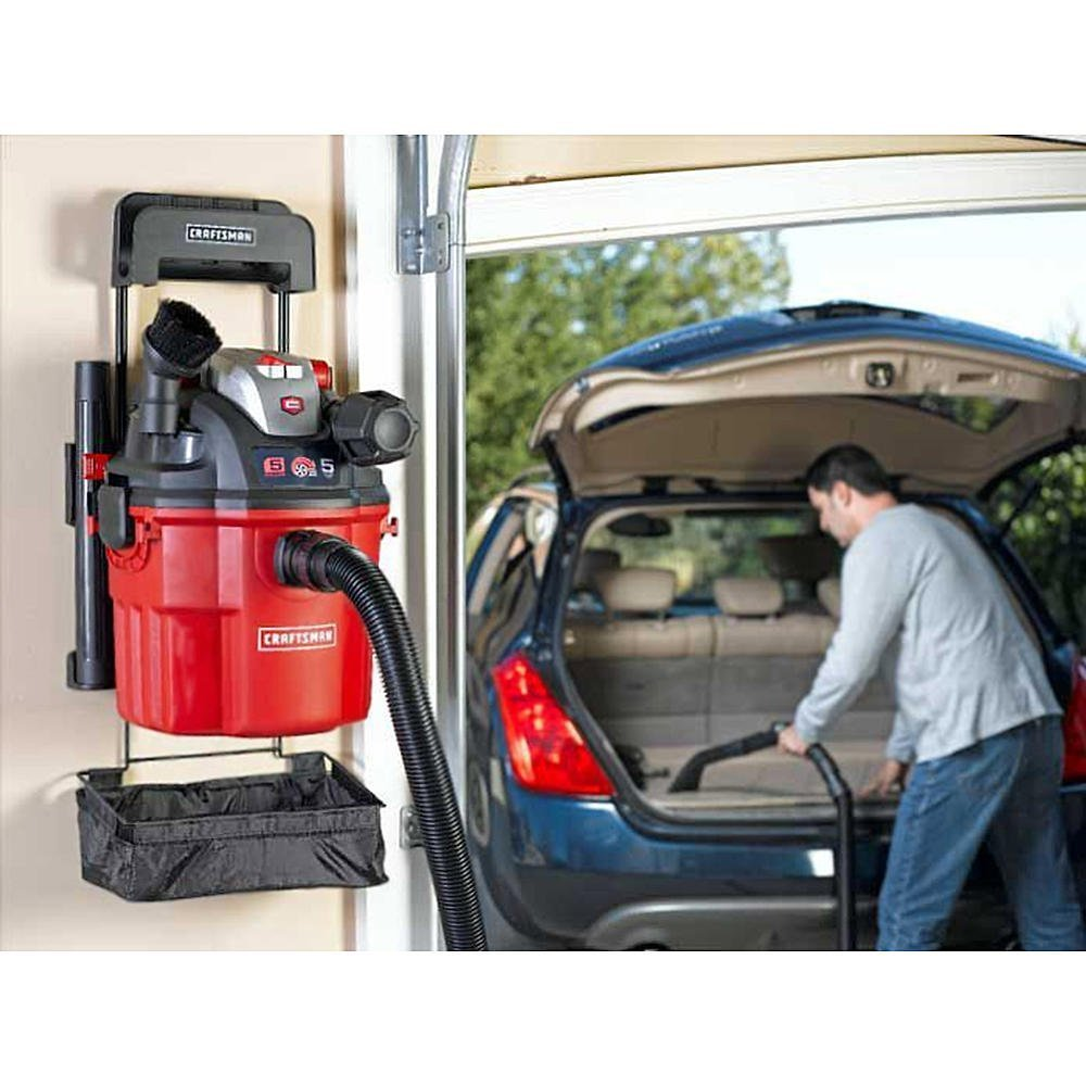 Craftsman Wall Mount Wet/Dry Shop Vac Reviews