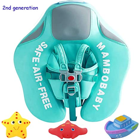 cc7683825b V Convey Upgrade 2nd Generation Baby Infant Soft Solid Non-Inflatable Float  Lying Swimming Ring