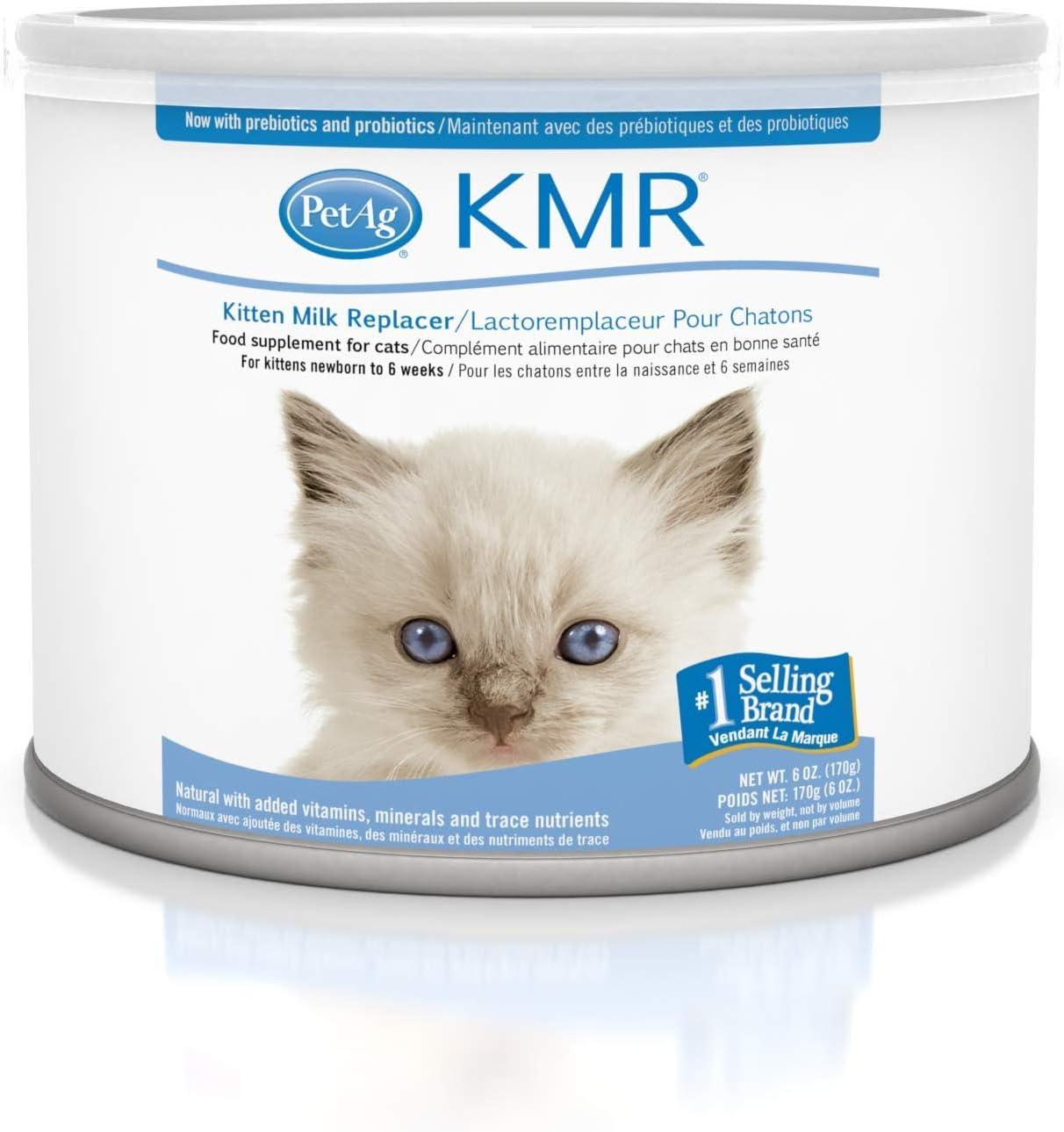 Amazon Com Kmr Milk Replacer For Kittens Pet Milk Replacers Pet Supplies