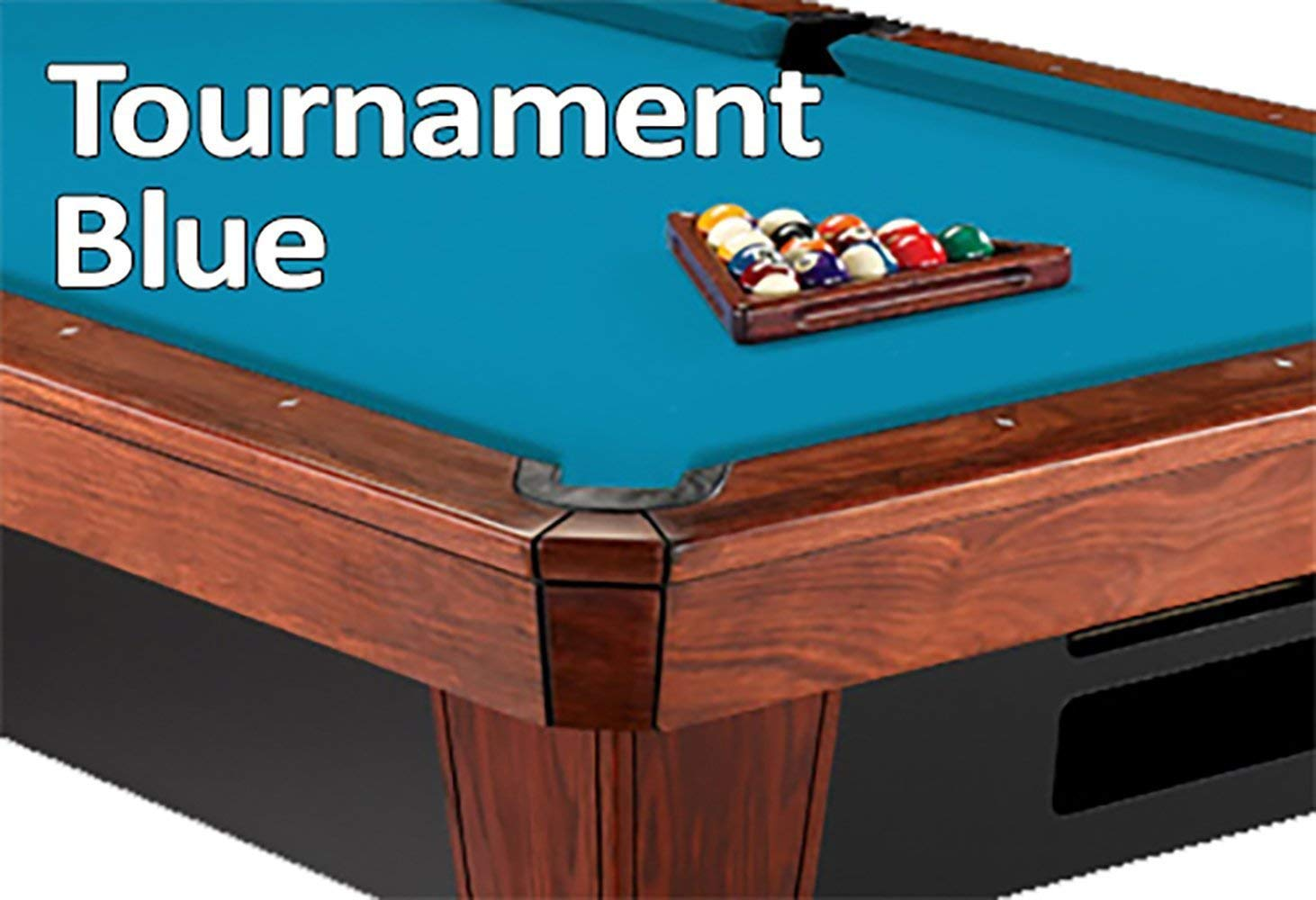 Simonis Cloth 860HR Pool Table Cloth - Tournament ブルー - 9ft B0043QGKU6
