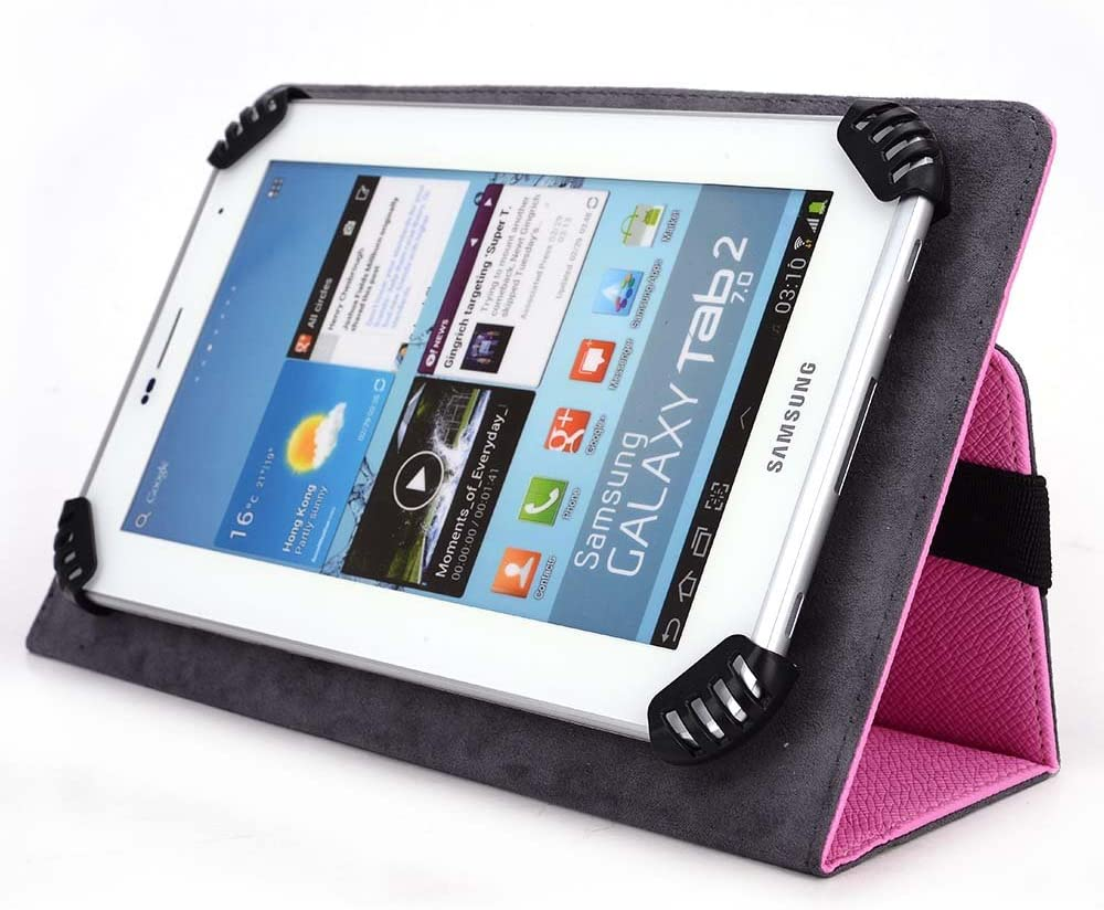 HP SLATE 7-EXTREME Tablet Case - UniGrip Edition - PINK