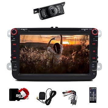 Libre cámara es incluido. 8 Inch Doble DIN coche estéreo Bluetooth ...