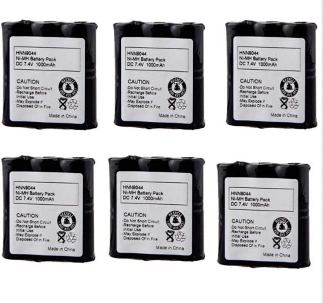 2 x HNN9044 HNN9044A Battery for MOTOROLA P10 P50 SP50