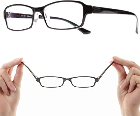 Amazon.co.jp: メガネ 近眼 近視 眼鏡【CF5043C1-5.00 PD62 】近眼 ...