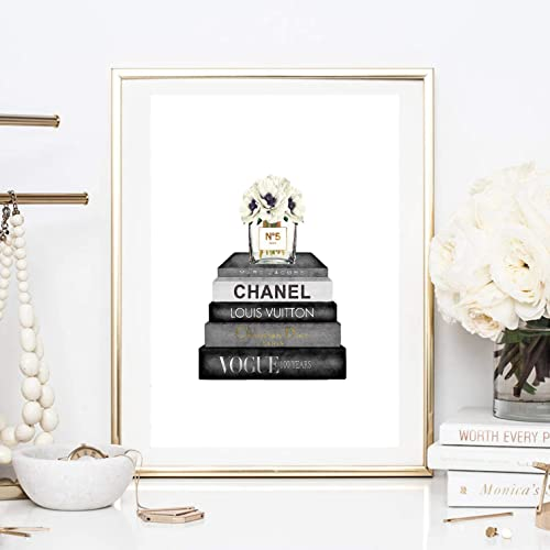 Kunstdruck Din A4 Chanel Parfum Magazin Bucher Mode Lifestyle