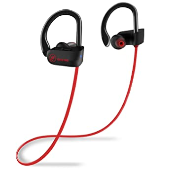 Auriculares Bluetooth, firacore deportes auriculares inalámbricos auriculares, Bluetooth auriculares IPX7 resistente al agua auriculares